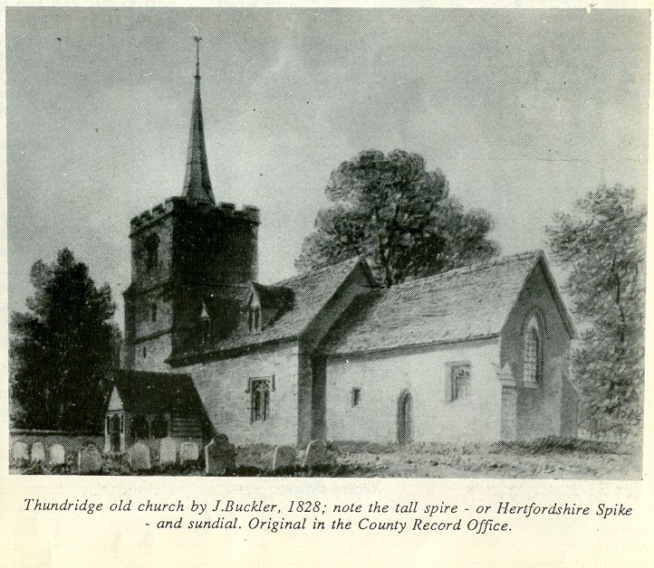 Thundridge Old Church - Buckler