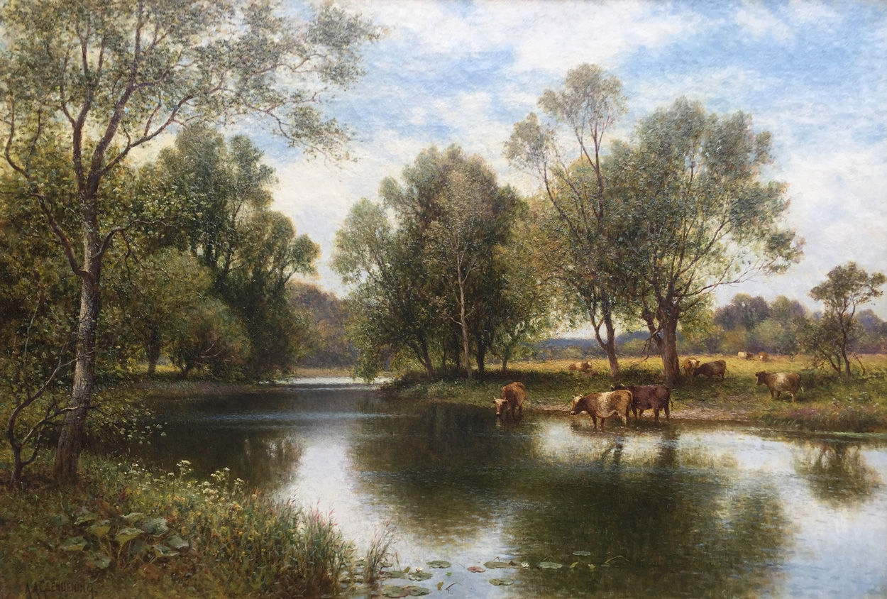 Youngsbury Wade Mill - Alfred Augustus Glendening